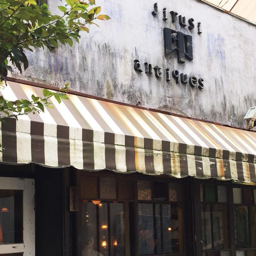 cafe antiques月印