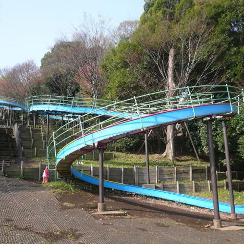 三ツ沢公園ロング滑り台