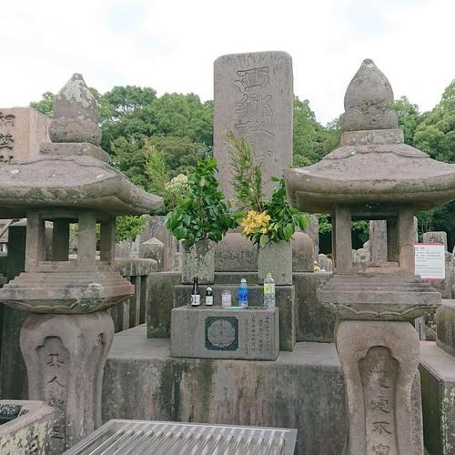 西郷隆盛墓(南洲墓地)