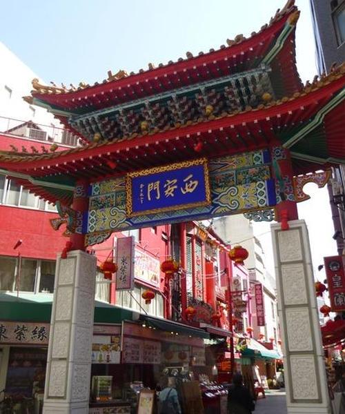 三ノ宮の南京町で食べ歩きデート