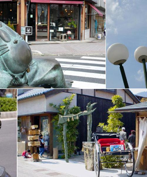 鬼太郎の故郷境港はそりゃ妖怪タウンだ