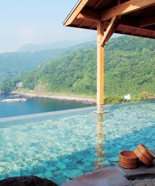 日帰りで伊豆高原の山、海、温泉、動物、絶品グルメを満喫プラン!