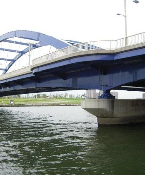 星飛雄馬と秋山小兵衛を結ぶ真新しい架け橋-水神大橋