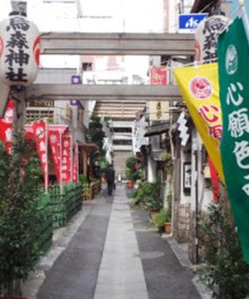 東京の御朱印巡り