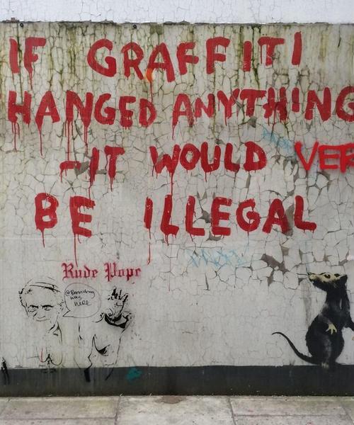 【London】Banksyをめぐる旅