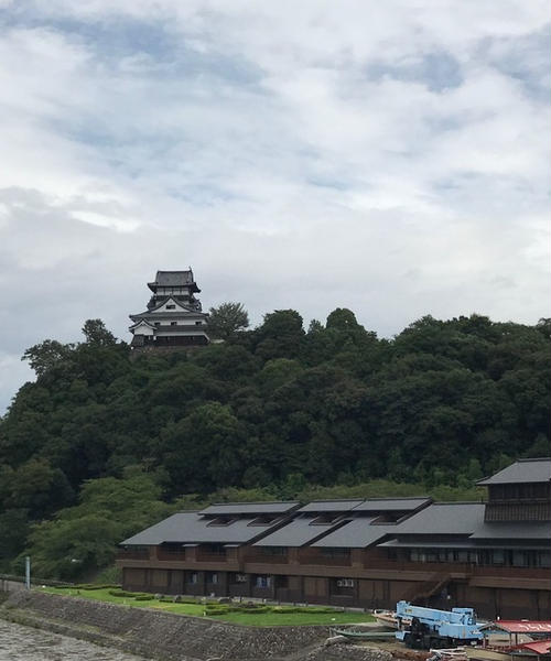 【日本100名城】国宝犬山城を湯船にで堪能!迎帆楼のお城ビュー泊と犬山観光