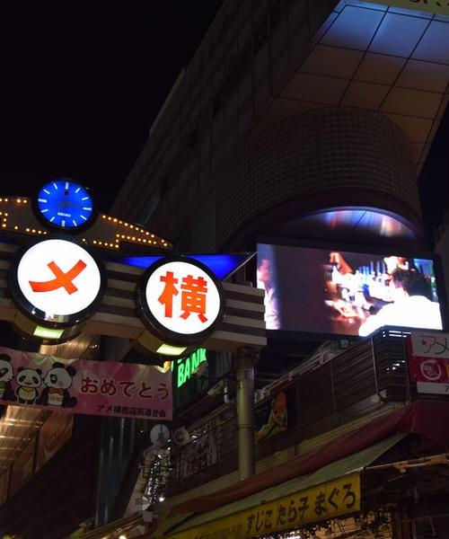 【ひとり旅】夕方から上野徘徊