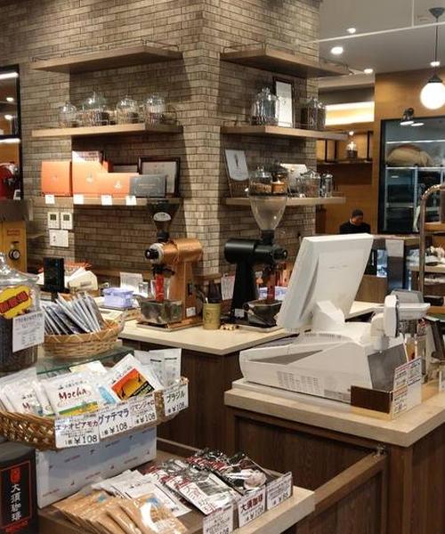 名古屋の豆専売店の喫茶