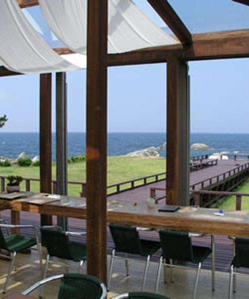 福井越前海岸の絶景カフェを目的地に