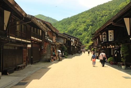 中山道最長の宿場町「奈良井」でのんびり散歩