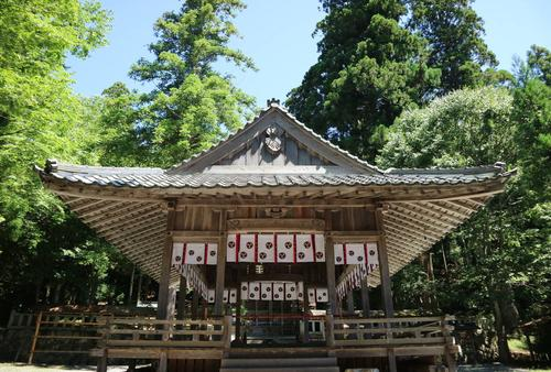Shrines and temples with millennium of history