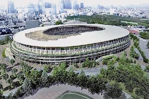 解体された国立競技場を観て悲しみにふける!を改め、建設されていく新国立競技場を観てワクワクする!