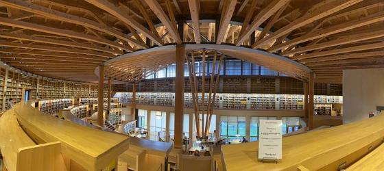 最もきれいな図書館として