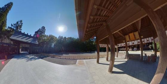 宮崎神宮 360度写真