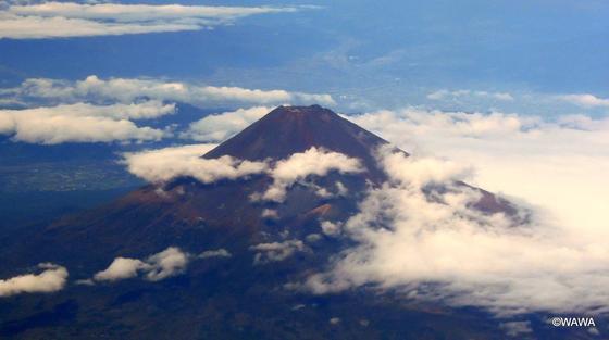 秋(10月)の富士山