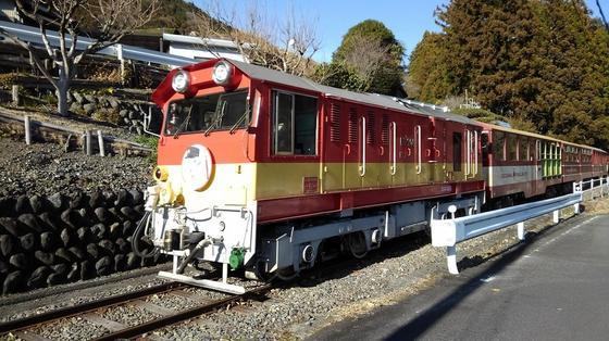 井川線の電車は格別