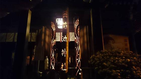 いろいろな竹灯り