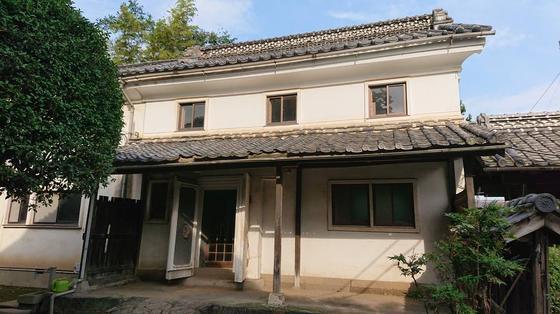 渋沢栄一 「生地」中の家