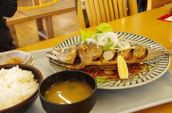 鯖の唐揚げ油淋鶏ソース