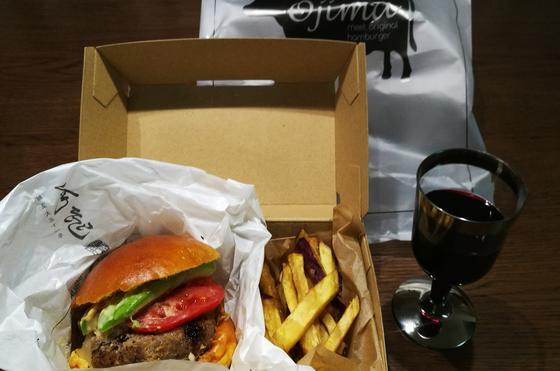 ハンバーガーも