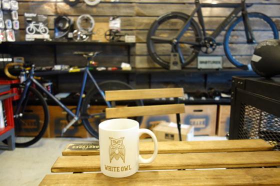 コーヒー飲みがら自転車談義