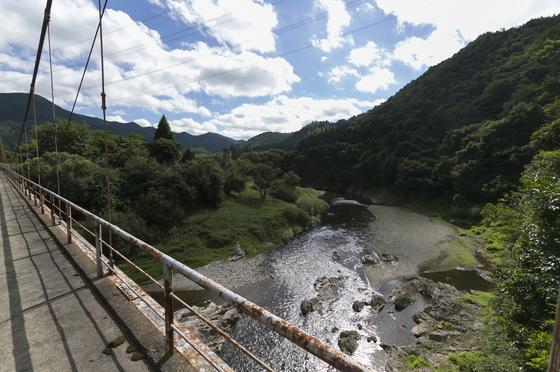 橋からの絶景