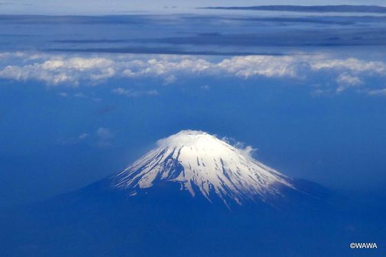 春(5月)の富士山
