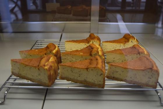 ロイヤルミルクティのベイクドチーズケーキ