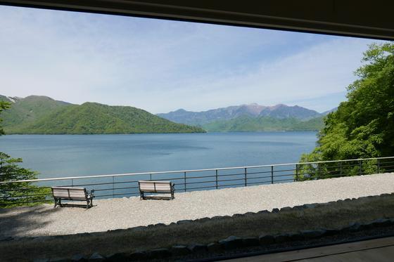 中禅寺湖の眺めが最高