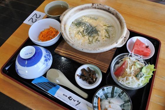土鍋雑炊モーニング