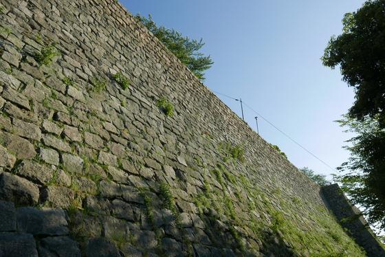 石垣が凄い
