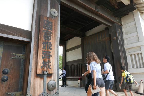 姫路城は国宝です