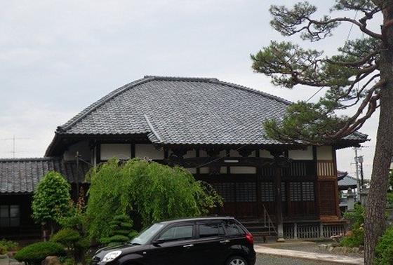【屋根がかわいい】蓮尚寺