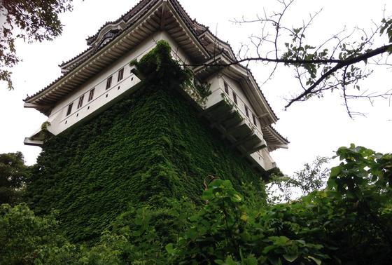 尾道城を下から