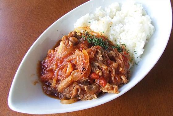 牛トマト定食