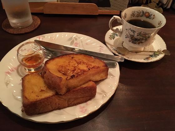 サントスブレンドとフレンチトースト