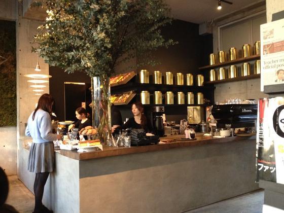 北欧の雰囲気溢れるカフェ