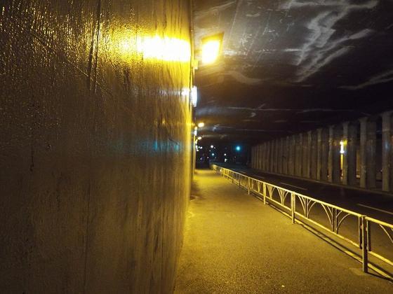 トンネル内部その3