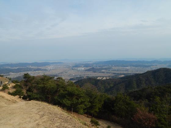西門からの眺め