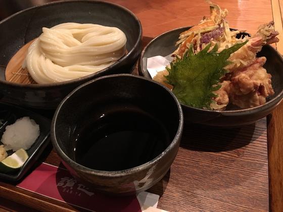 天ぷらざるうどん ¥1,060