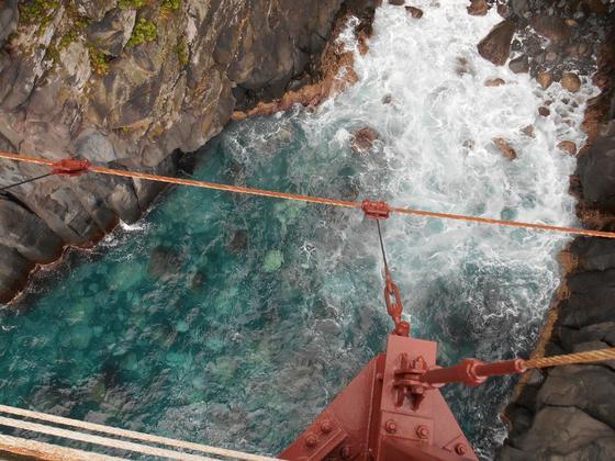 吊り橋からの眺め