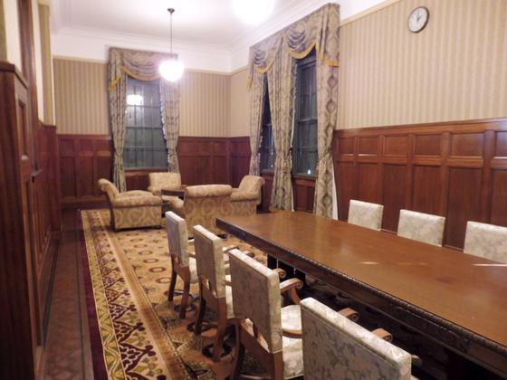 復元された貴賓室