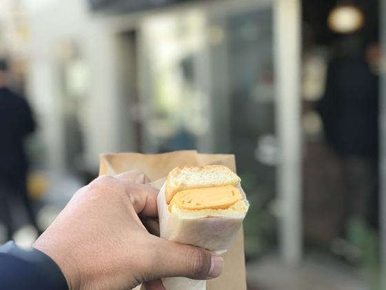 卵焼きサンド