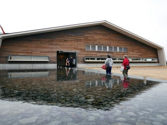 この建物は温泉です