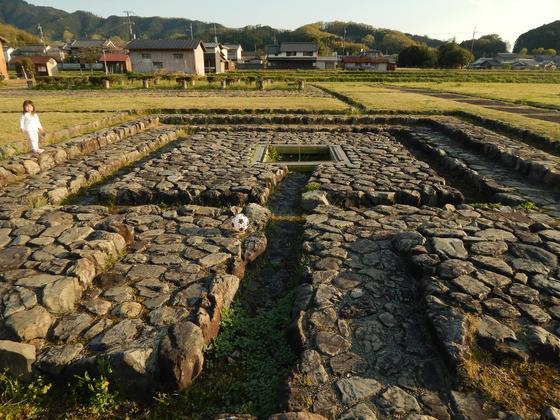 石垣は宮殿のほんの一部