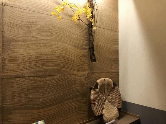 オサレ〜な個室風味畳敷き。