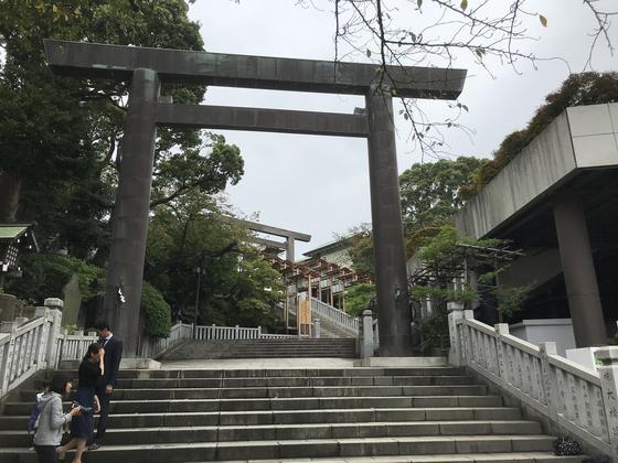 大きめの神社