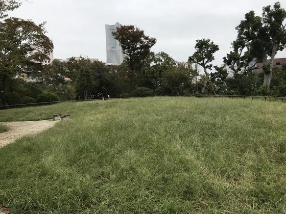 散策地区の展望広場?