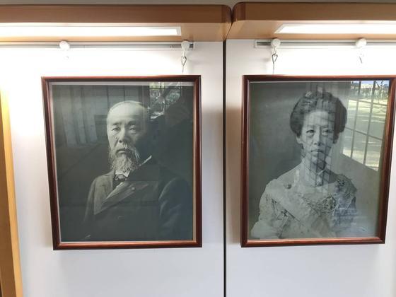初代総理と奥様です。