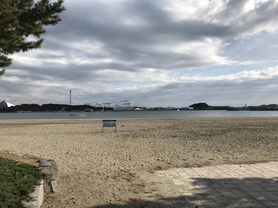 八景島が見渡せます。